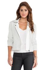 Hush Jacket in White