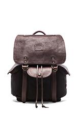 Lennon Backpack in Black & Brown