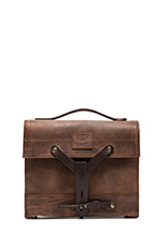 Found Surplus Leather Swiss Medic Bag in Brown