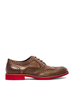 1883 Wing-Tip Brogue in Brown Upper/Red