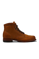 Addison 1000 Mile Wingtip Boot in Tan