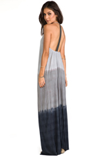 EXCLUSIVE Veve Maxi Dress in Black/Grey
