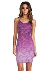 Elle Ombre Dress in Fuchsia