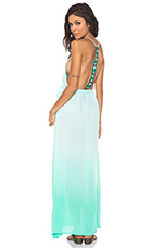 Veve Maxi Dress in Seafoam