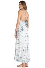 Goddess Tie Dye Dress in Charcoal