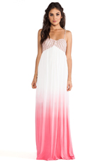 Kenzie Ombre Maxi in Pink