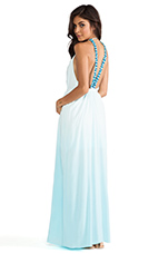 Hartlynn Maxi Dress in Turquoise