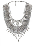 x REVOLVE 3 Necklace in Crystal & Silver