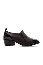 Demi Soft Leather Ankle Boot in Black