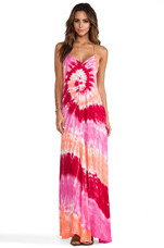Fortune Maxi in Fuchsia Infinity Wash