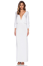 Eaton Maxi Dress in Solid White