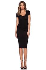 Araya Dress in Solid Black