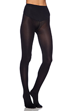Deidra Mid Waist Footed Legging in Black