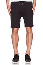 Gabe Short in Quilted Black