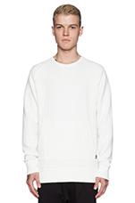 Gridlock Sweatshirt in White