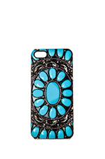 Desert Gem iPhone 5 Case in Turquoise