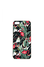 Bahama iPhone 5 Case in Green & Pink