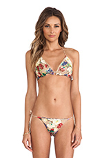 Haze Reversible Triangle Bikini in Floral & Paisley