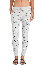 Star Pants in Grey