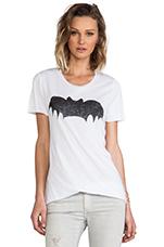 Bat Tee in Off White