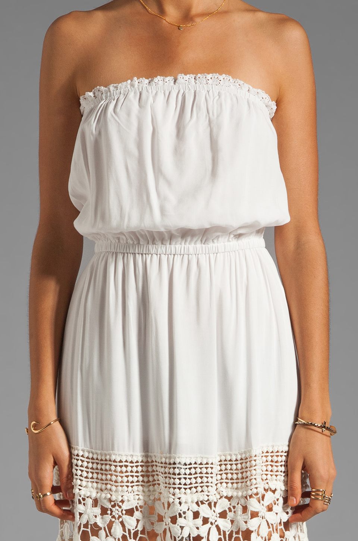 6 SHORE ROAD Charlotte's Maxi Dress in Shell