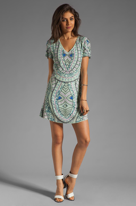 Antik Batik Hampton V Dress in Aqua