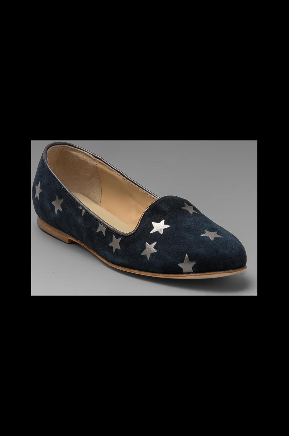 Anniel Loafer Stars in Dark Blue Grey