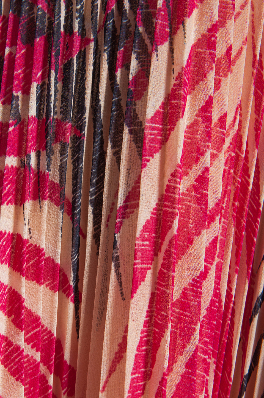 Akiko Tank Wrap Dress in Tropic Print