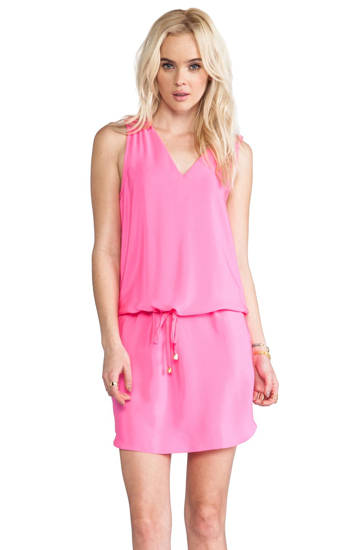 Amanda Uprichard Brittany Dress in Hibiscus