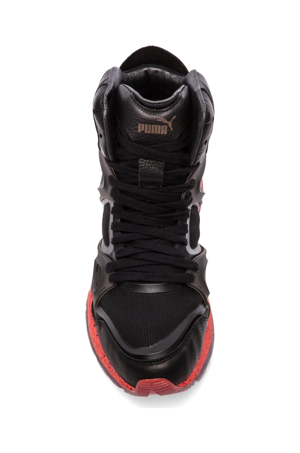 Alexander McQueen Puma Run Mid in Black