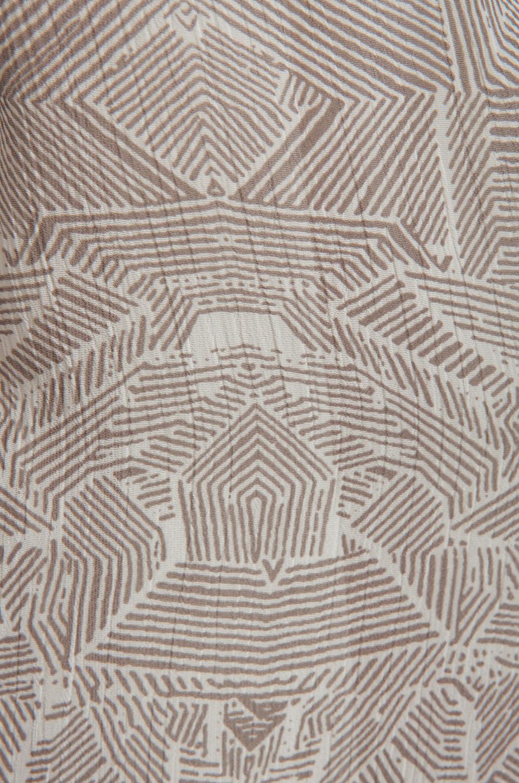 ANINE BING Print Dress in Charcoal