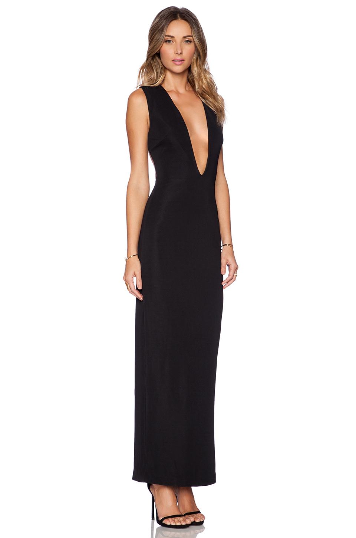 AQ/AQ Viena Maxi Dress in Black