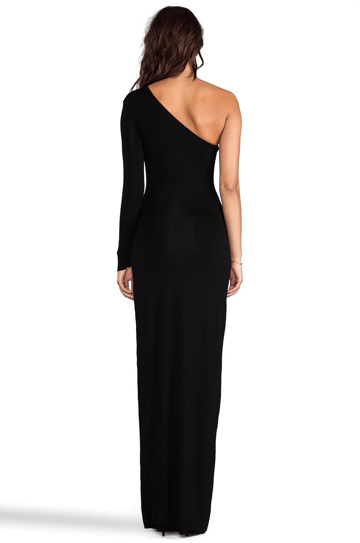 AQ/AQ Yoko Maxi Dress in Black