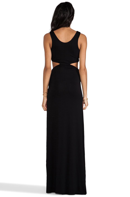AQ/AQ Tatianna Maxi Dress in Black