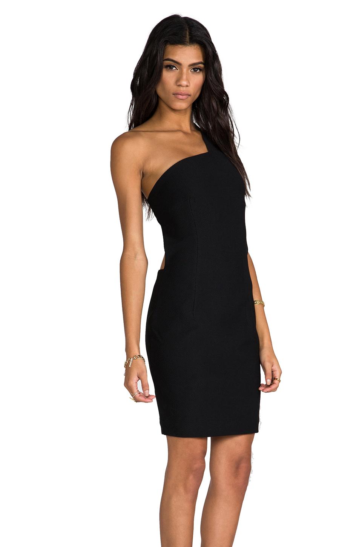 AQ/AQ Felix Mini Dress in Black