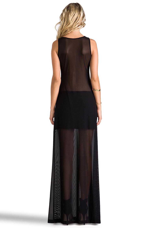 Alexis Mizuri Dress in Black & Mesh