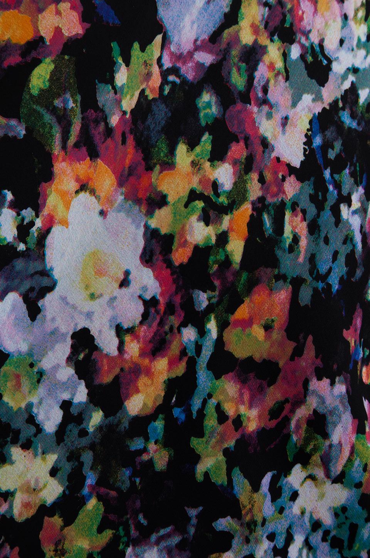 Backstage Modern Love Dress in Black Floral