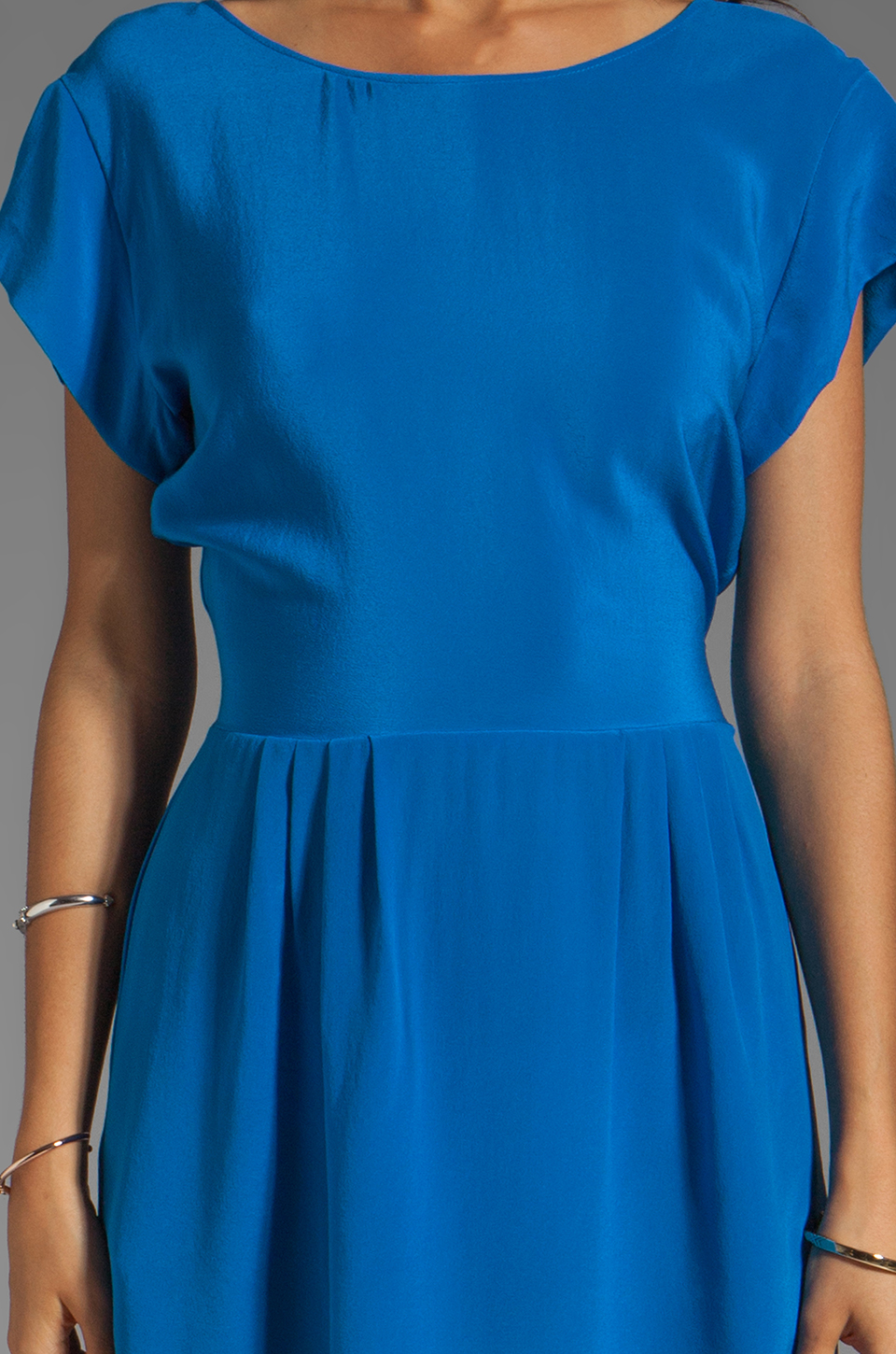 Backstage Serena Dress in Electric