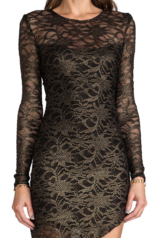 Backstage Marissa Dress in Black