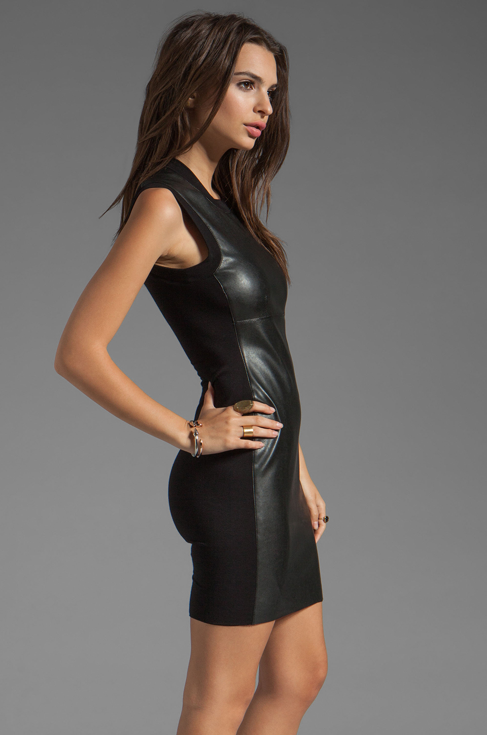 Bailey 44 Speed Demon Dress in Black