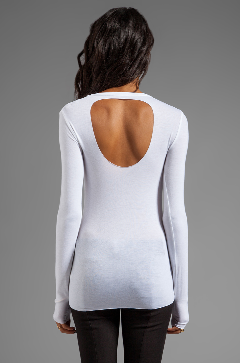 Bailey 44 Screenshot Top in White
