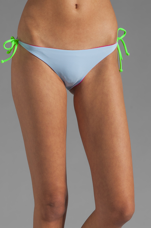 Basta Surf Raglan Reversible Bikini Bottom in Fuchsia/Peri