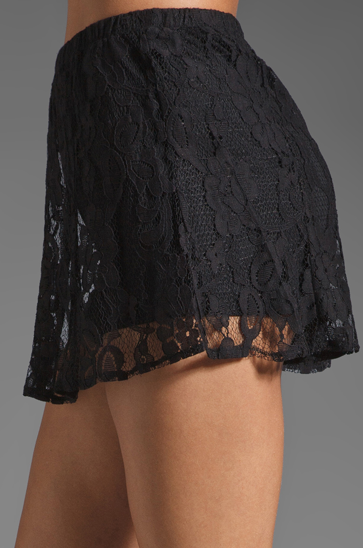 BB Dakota Aniston Lace Skort in Black