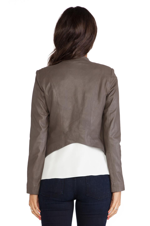 BB Dakota Tyne Leather Jacket in Tobacco | REVOLVE