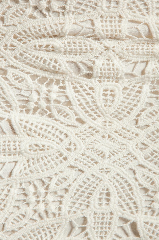 BB Dakota Fionna Lace Mini Skirt in Ivory