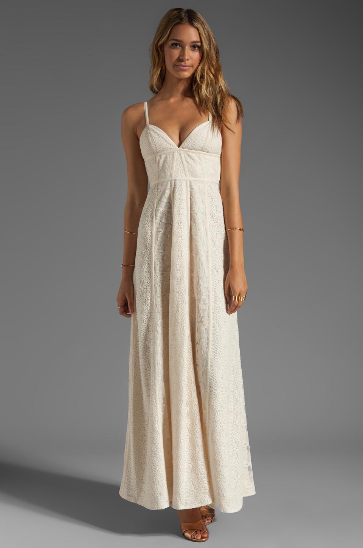 BCBGMAXAZRIA Summer Dress in Rose Whisper