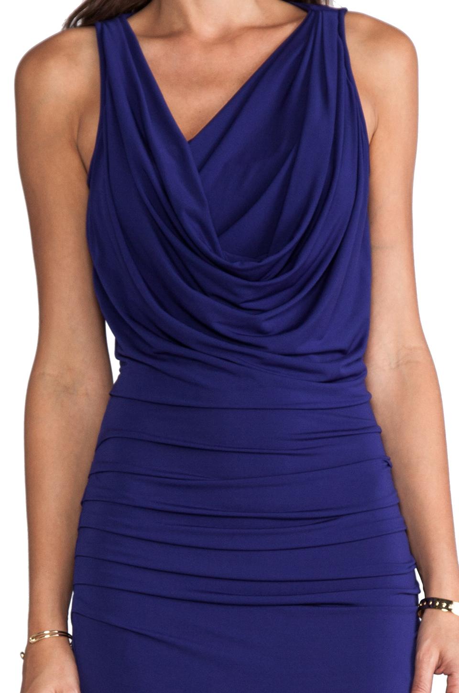 BCBGMAXAZRIA Nicole Dress in Orient Blue