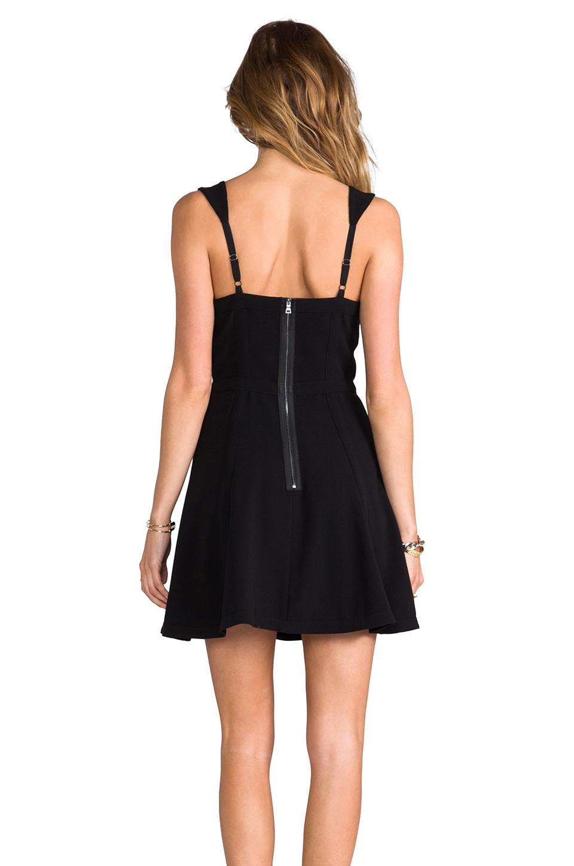 BCBGMAXAZRIA Yasminka Dress in Black