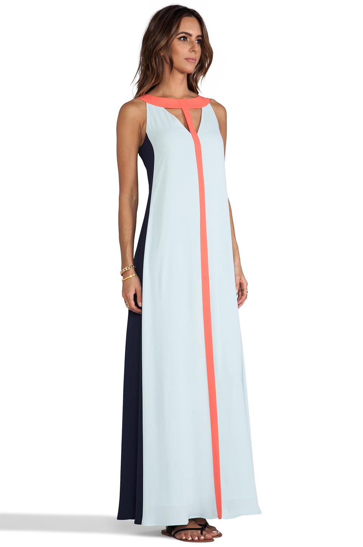 BCBGMAXAZRIA Wilah Dress in Sterling Blue Combo