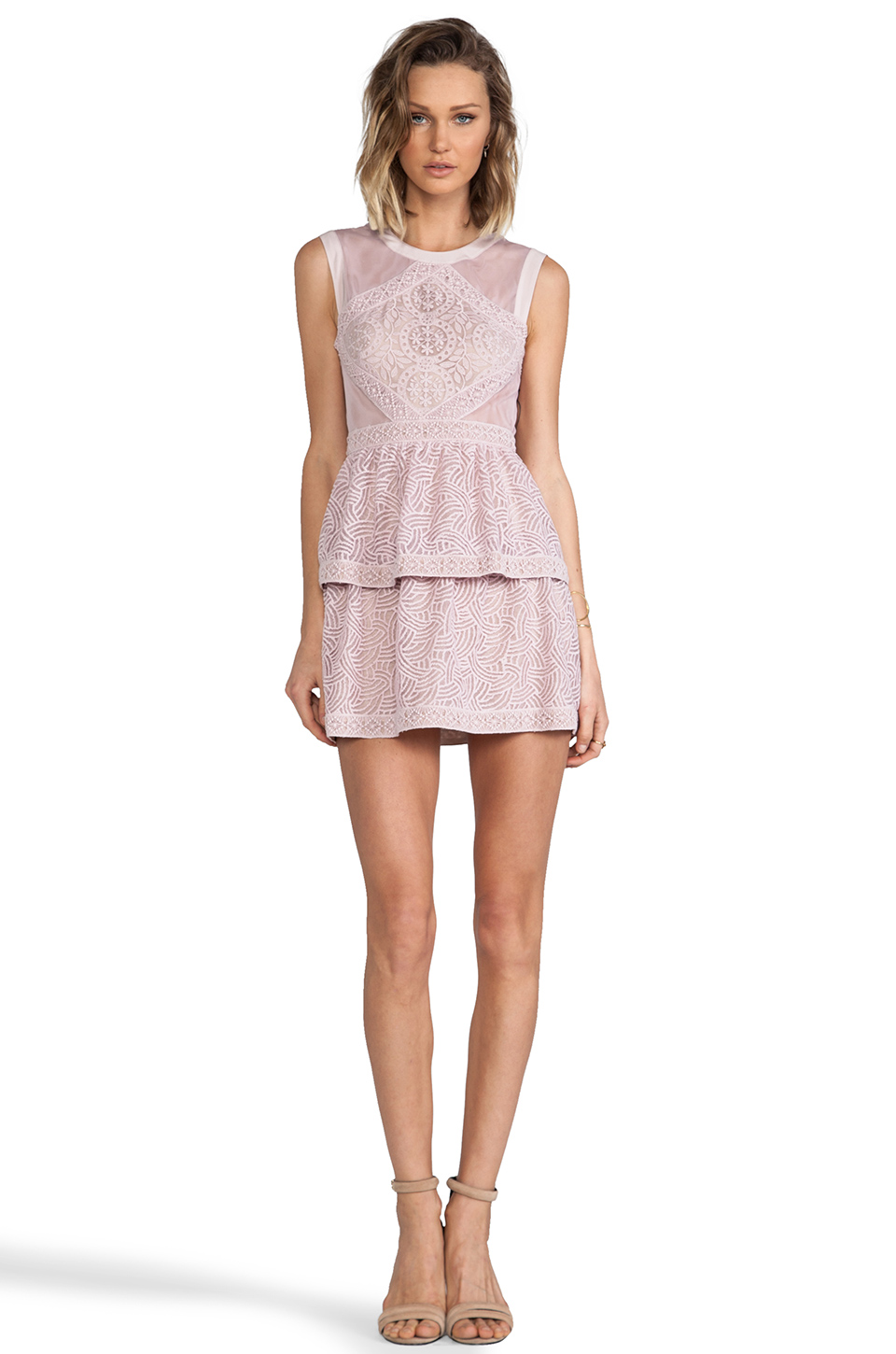 BCBGMAXAZRIA Joselyn Dress in Lavender Mist